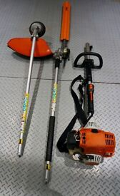 Stihl Kombi KM90R Engine Unit with hedge trimmer / strimmer attachments