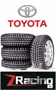 Toyota Corolla Winter Tires Steel Rim Package Call 905 673 2828  @Zracing 15 inch $499 16 Inch $540 Installed Balanced
