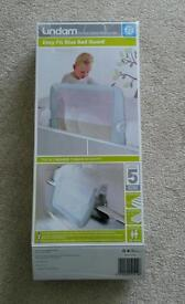 LINDAM EASY FIT BED GUARD BOXED LIKE NEW EX. CONDITION