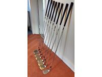 John Letters Swingmaster Irons 4-9 and sand wedge plus Fazer Contender pitching wedge