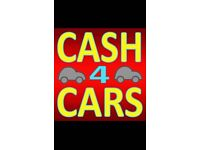 Wanted any cars cash paid same day collection