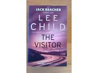 The Visitor by Lee Child the fourth book in the Jack Reacher series excellent condition