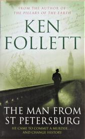 Ken Follett - THE MAN FROM ST PETERSBERG - NEW