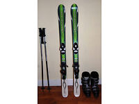 Skis, Boots and Poles For Sale