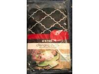 Baby travel changing clutch