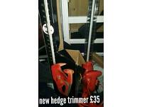 New flymo hedge trimmer