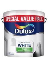 Dulux white silk emulsion paint brand new