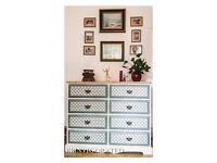 SOLID PINE CHEST OF DRAWERS SHABBY CHIC, ANNIE SLOAN