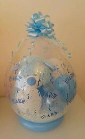 "Its a boy 18"" stuffed balloon gift new baby present teddy"