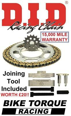 TRIUMPH 600 SPEED FOUR 03 DID UPGRADE CHAIN AND SPROCKET KIT  TOOL