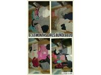 Girls bundle of clothes 6-12 months