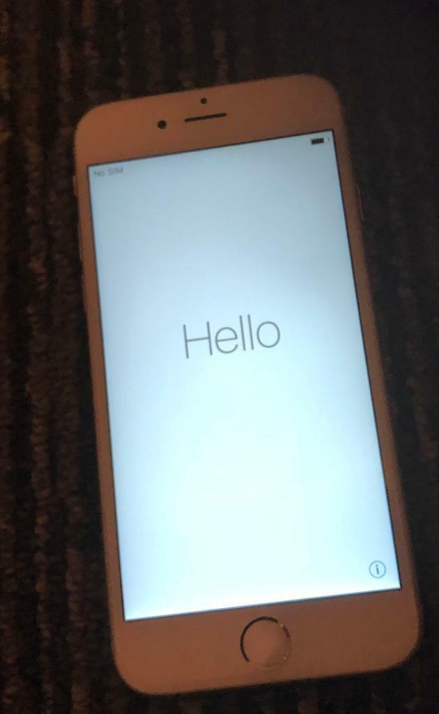 iPhone 6s **Phone Unlocked to any network provider**