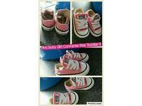 Toddler size 3 Pink Converse