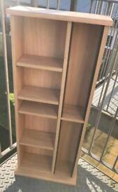 Shelves oak finish