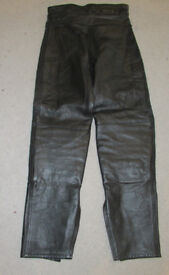 Women's Leather Motorcycle Trousers