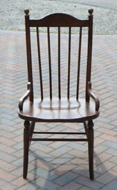 Large Wooden Dining Chair