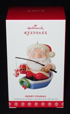 Hallmark Keepsake 2017 Merry Fishmas Christmas Ornament QGO1772 NEW IN BOX