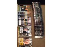 CSI collection seasons 1-4 dvds and Magazines