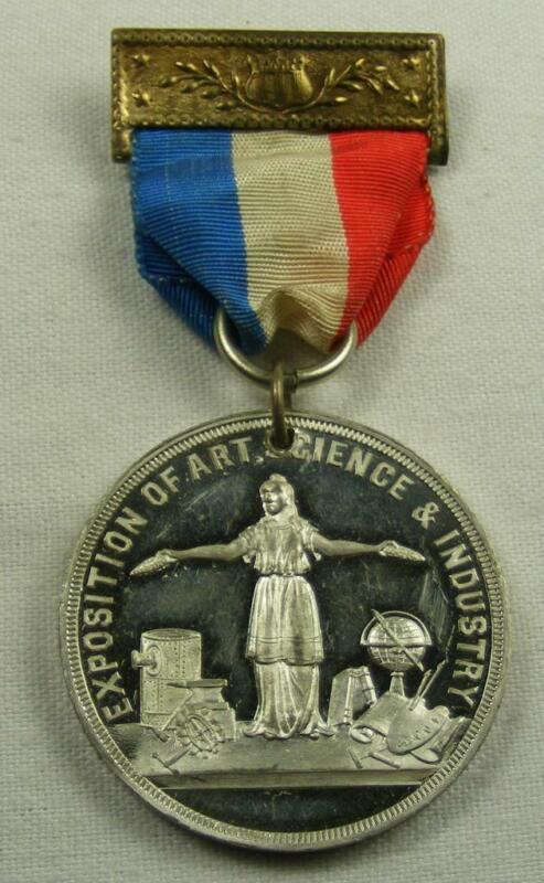 1898 Trans-Mississippi and International Exposition Medal Omaha June to Nov 1898