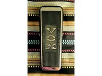 Vox 847 Wah-Wah (with Chucks Tone Garage: Clyde McCoy mod) - GUITAR EFFECTS PEDAL FOR SALE