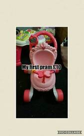 Various baby items for sale prices on pics