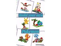 Build your own pokemon, building blocks