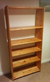 Pine wood book case