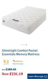Silentnight Pocket Essentials Memory Mattress