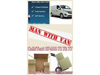 Van & Man Services-Home or Business. Glasgow & Surrounding