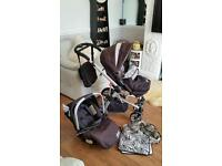 Quick sale good clean condition pram / pushchair / stroller / carseat