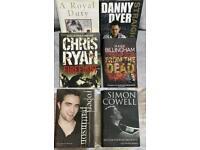Biography Hardback Books x6