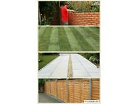🚜 MANCHESTER GARDEN SERVICES Driveways Decking Fencing Patios Walls artificial grass gates turfing