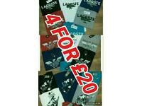 Nike Lacoste Armani Tshirts NEW