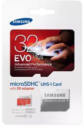 Samsung micro sd 32gb class 10 memory card