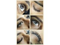 Eyelash Extensions, Semi Permanent make up 10% off