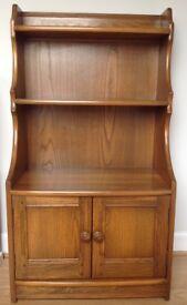 Ercol Bookcase Cabinet Genuine Small
