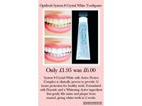 Teeth whitening tooth paste