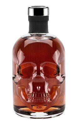 Rum 15 Jahre 0,5L Piraten Skull Totenkopf Caribbean - Piraten Flasche Rum