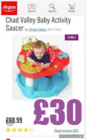 Chad valley activity saucer
