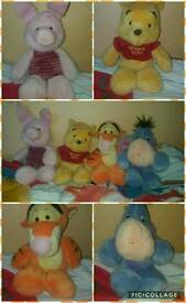 Winnie the Pooh & Friends Beanie Teddies