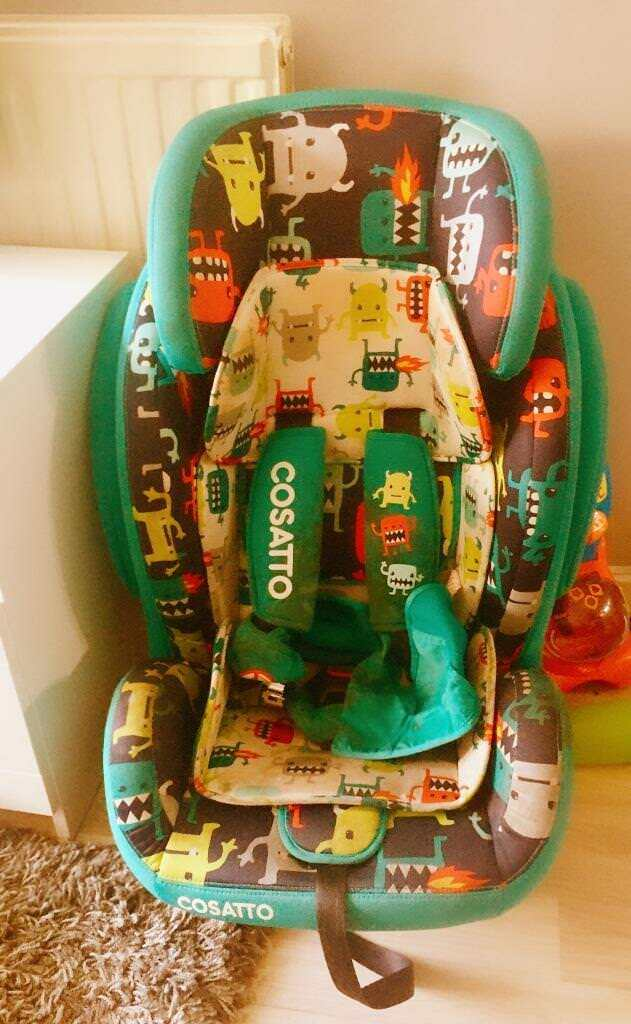 Cosatto Hug Isofix Group 1/2/3 Car Seat - Cuddle Monster 2