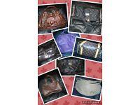 Assortment of women's hand bags