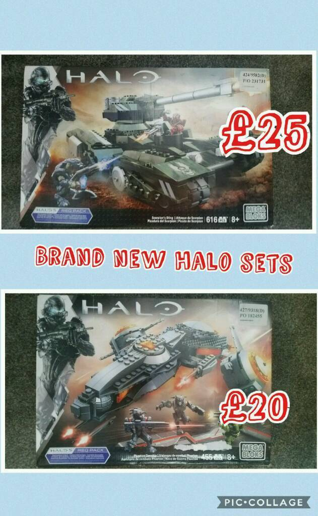 Brand new halo mega bloks