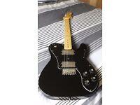 Fender Squier 72 Telecaster Deluxe £250