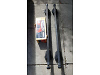 Thule Rapid sytem 755 and bars with keys
