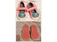 Next Girls Baby Cat Shoes