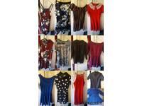 £5 each dresses size 6-10