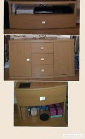 Furniture - tv unit, sideboard, lamp table