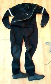 Sea Skin Scuba Diving Dry Suit - Excellent Condition