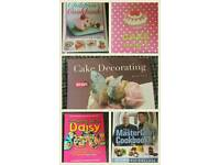 Selection of Cook books
